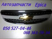 Шевроле Эпика капот, решетка радиатора. Chevrolet Epica