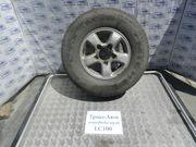 запаска с резиной на тойота ленд крузер 100